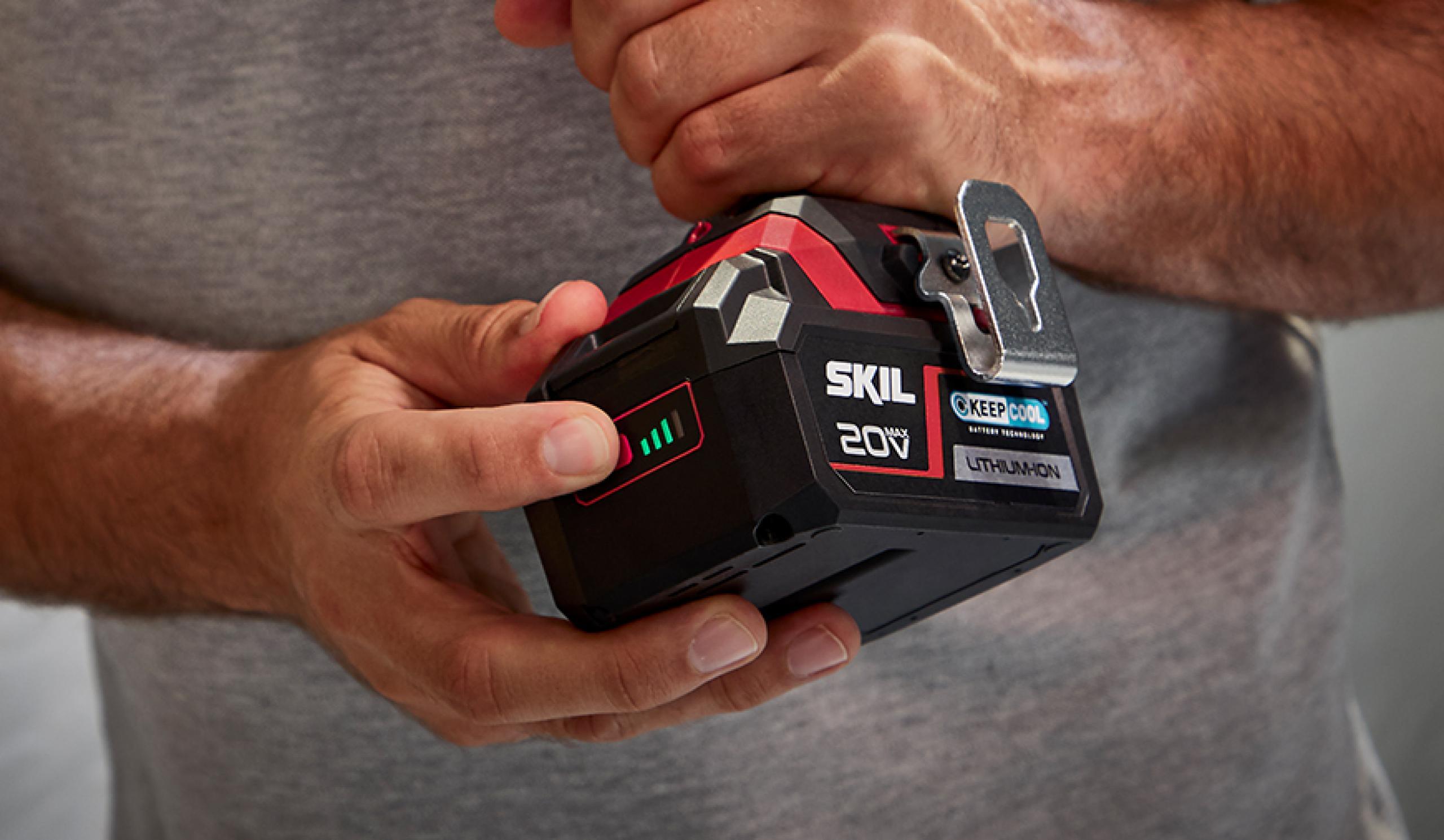 Patenteret indikator til batteriniveau: En indikator, du kan have tillid til