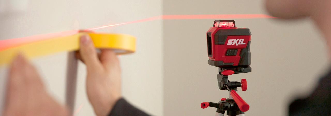 Laser/måleværktøjer